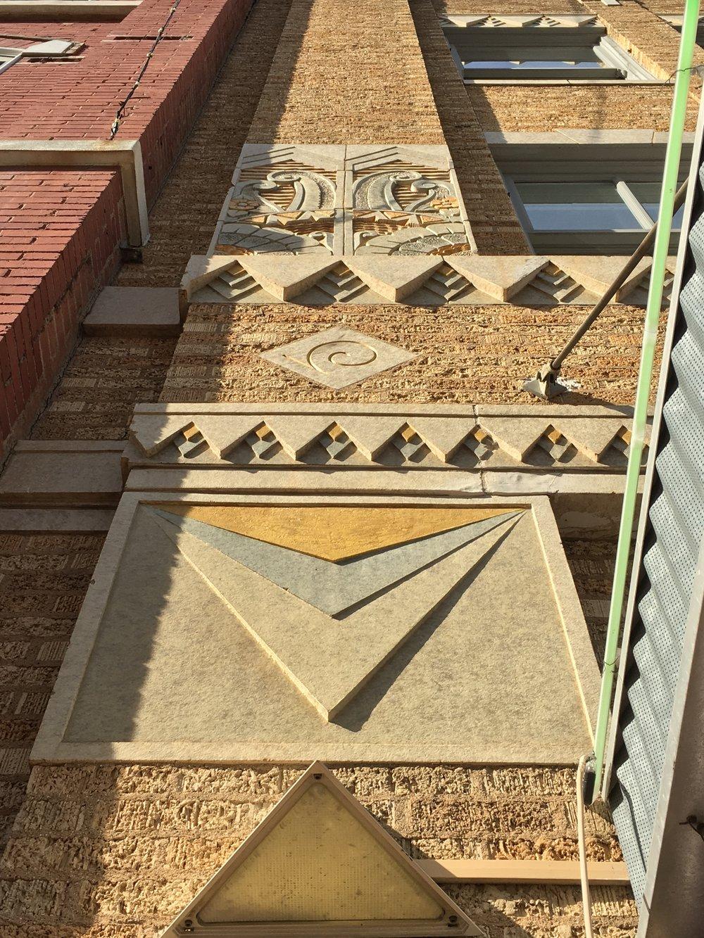 Architecture at Sundance Square, Fort Worth, TX