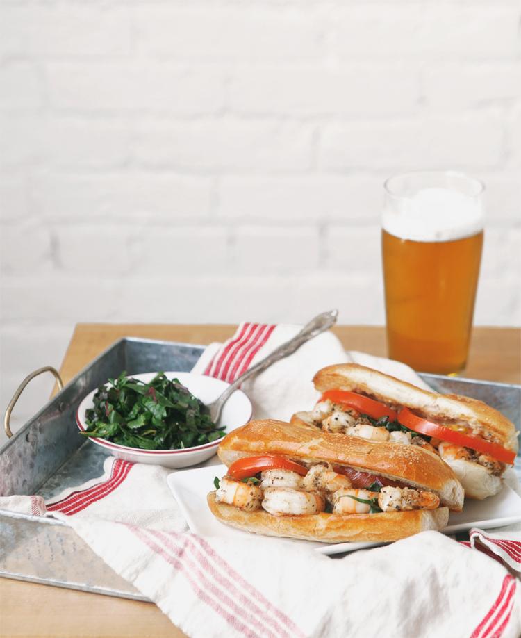 po boy sandwiches with remoulade sauce man fuel a food shrimp po boys ...