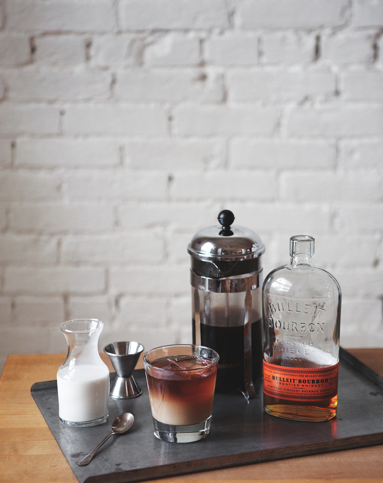 Cold Brew Bourbon Cocktail by A Better Happier St. Sebastian