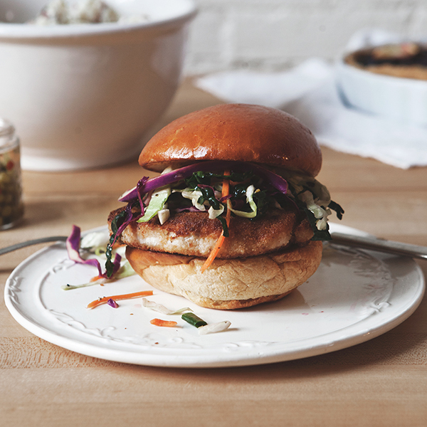 Pan Fried Pork Chop Sandwich