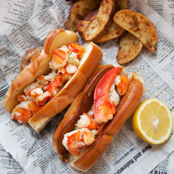 Brown Butter Lobster Rolls