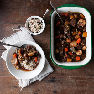 Leek + Porter Beef Stew
