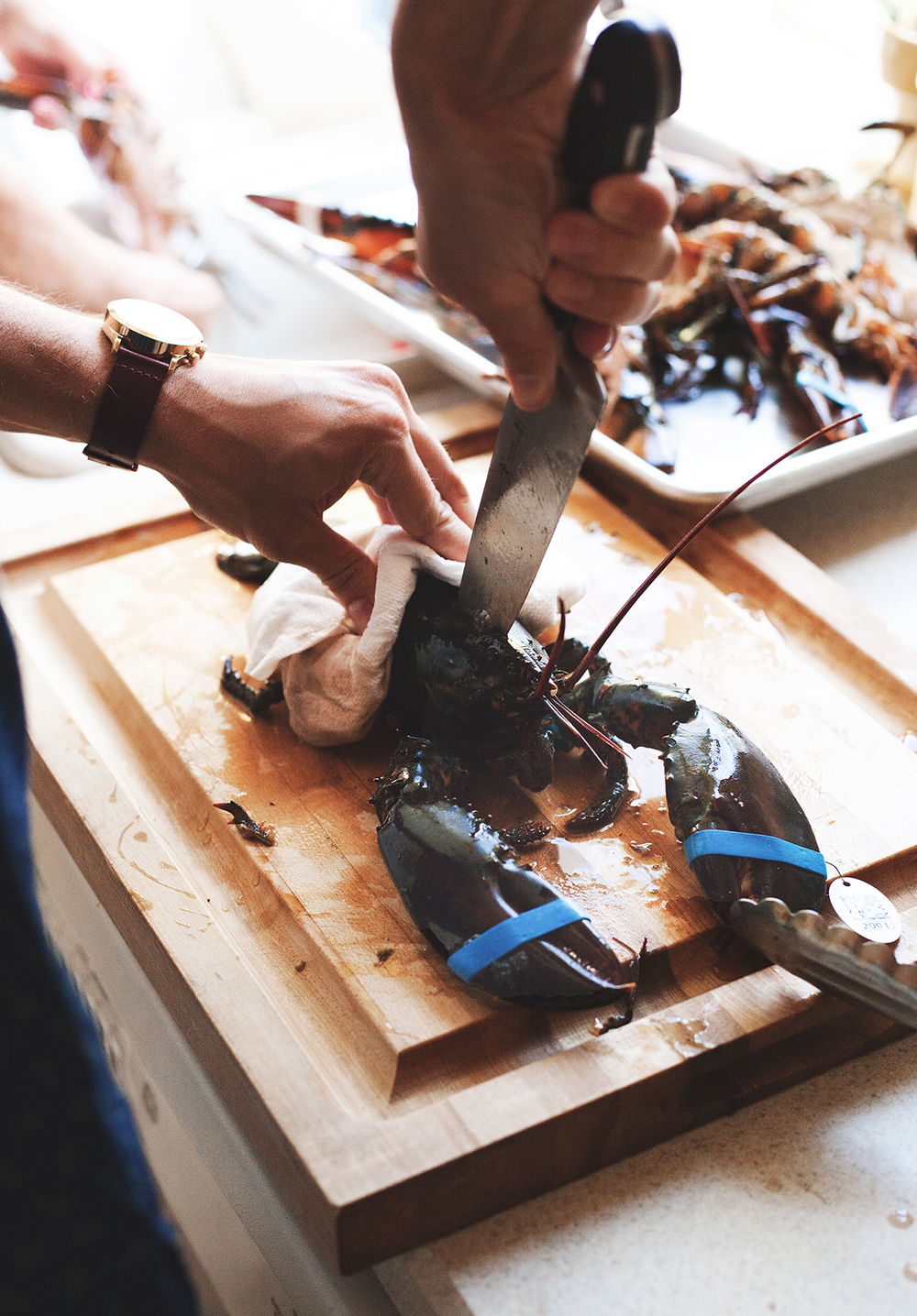 How to Grill a Lobster — a Better Happier St. Sebastian