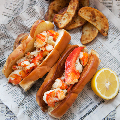 Brown Butter Lobster Rolls