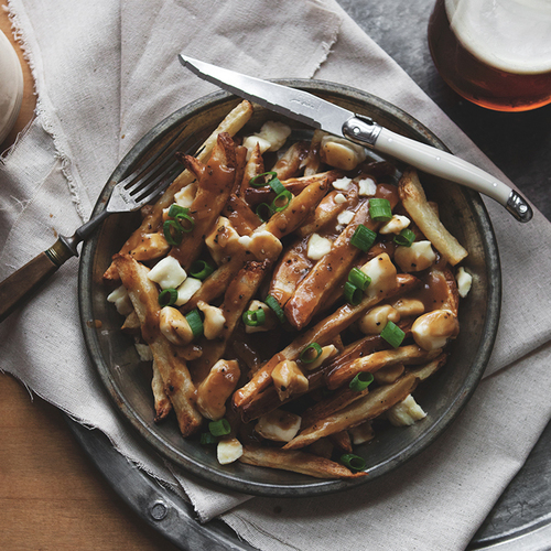 Poutine with Stout Gravy