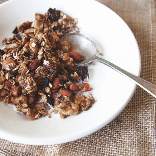 winter fig + vanilla spiced cereal