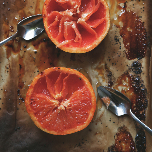 grapefruit brûlée with st-germain