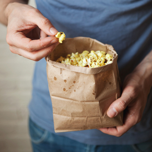 Curry Butter Popcorn