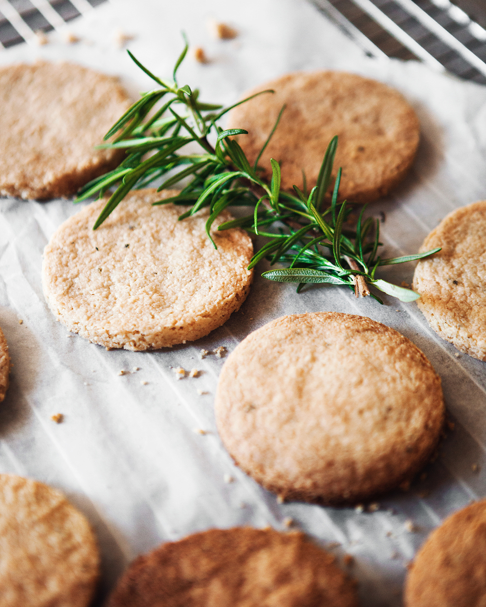 Toasted Walnut Maple Rosemary Shortbread Ice Cream Sandwiches — a ...