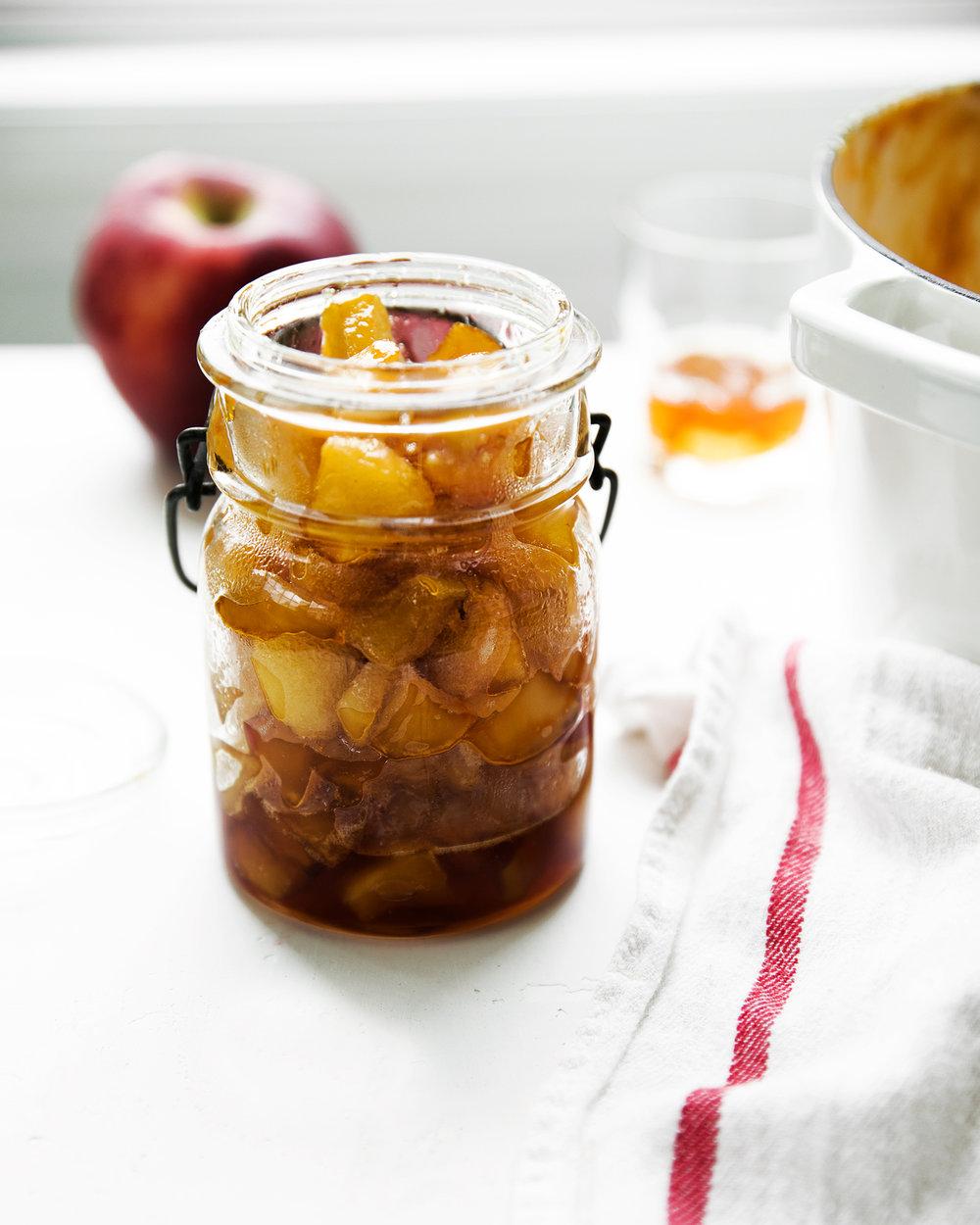 Bourbon Caramel Apple Jam