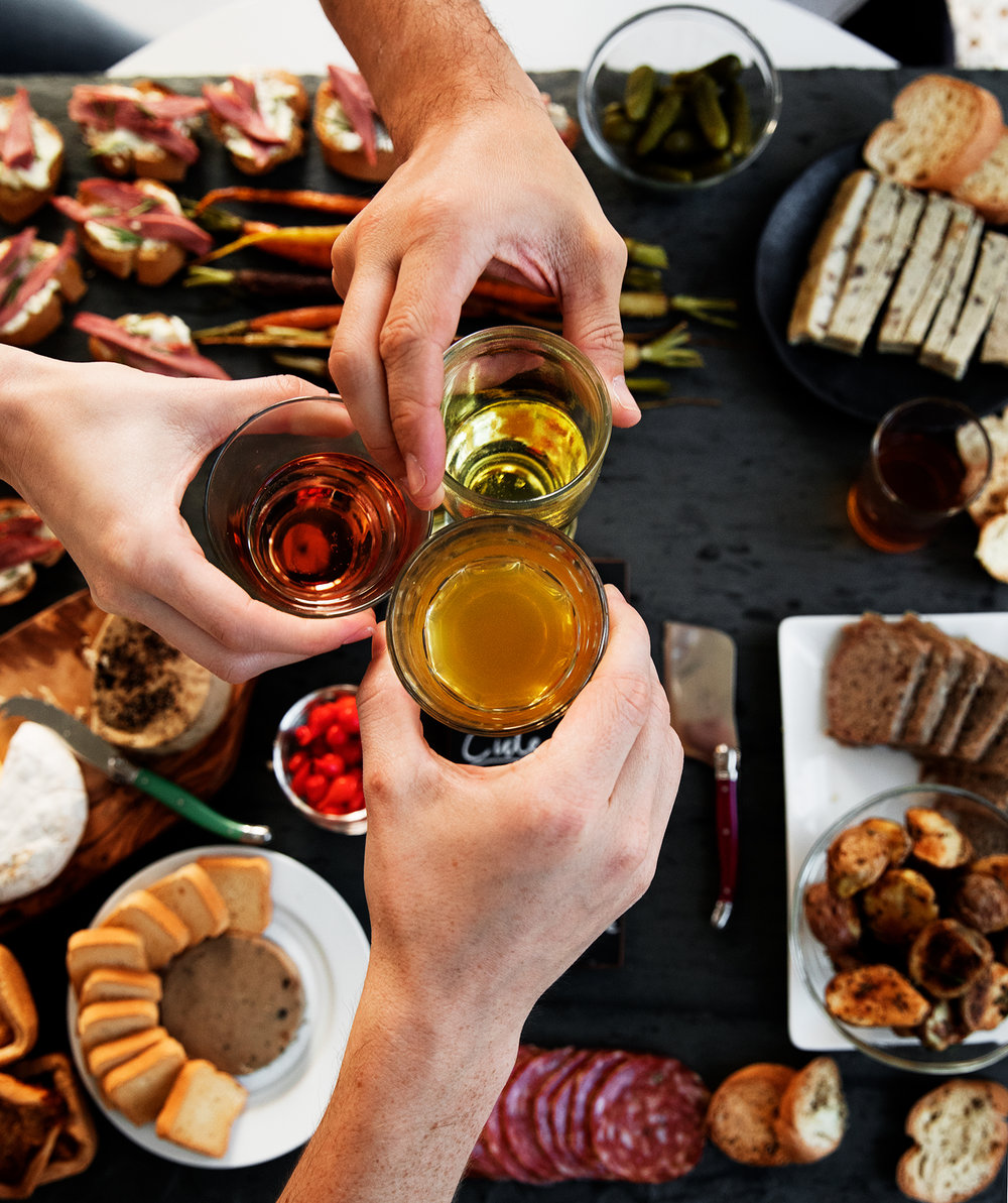 Cider Tasting + Charcuterie Board