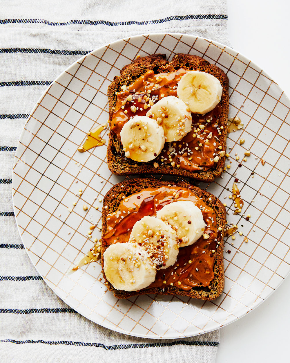 Healthy Elvis Toast