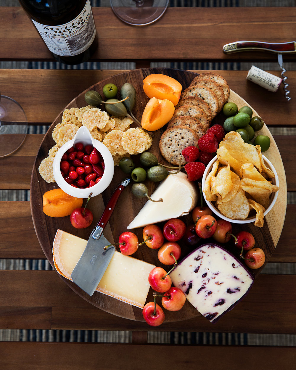 Wine + Cheese Pairing Inspiration