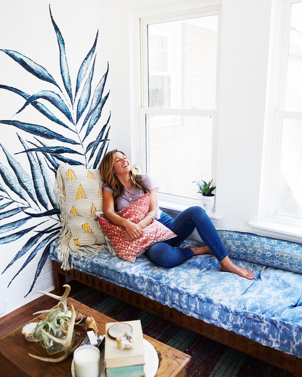 chelsea meissner at home - a chat with Chelsea Meissner + Kim Spraldin Wolfe
