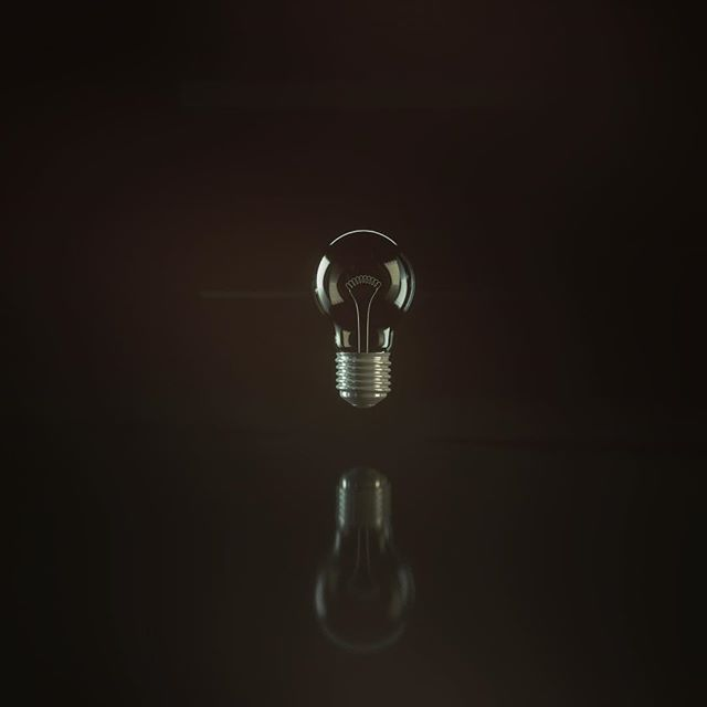 Lightbulb #Octane #otoy #c4d #cinema4d