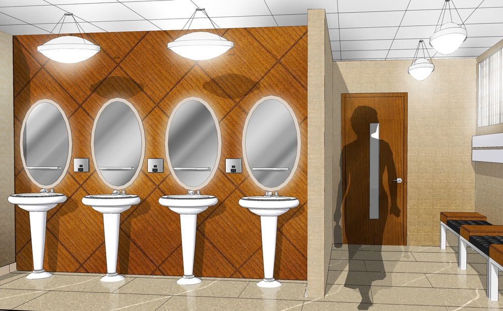 Women's Washroom - Proposed