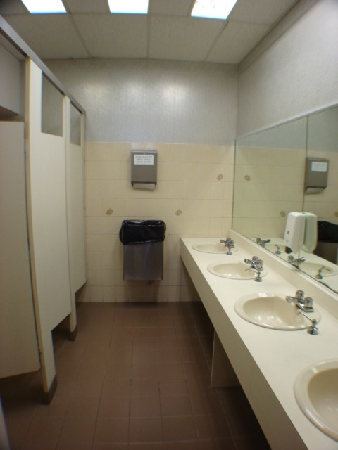 Women's Washroom - Before