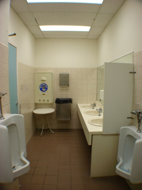 Before - Men's Washroom