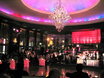 Rainbow Room, Rockefeller Plaza in New York City USA.