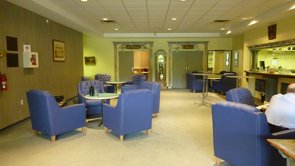 Before - Bar Lounge Leading To Main Banquet Hall