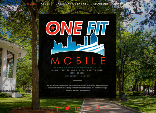 One Fit Mobile website