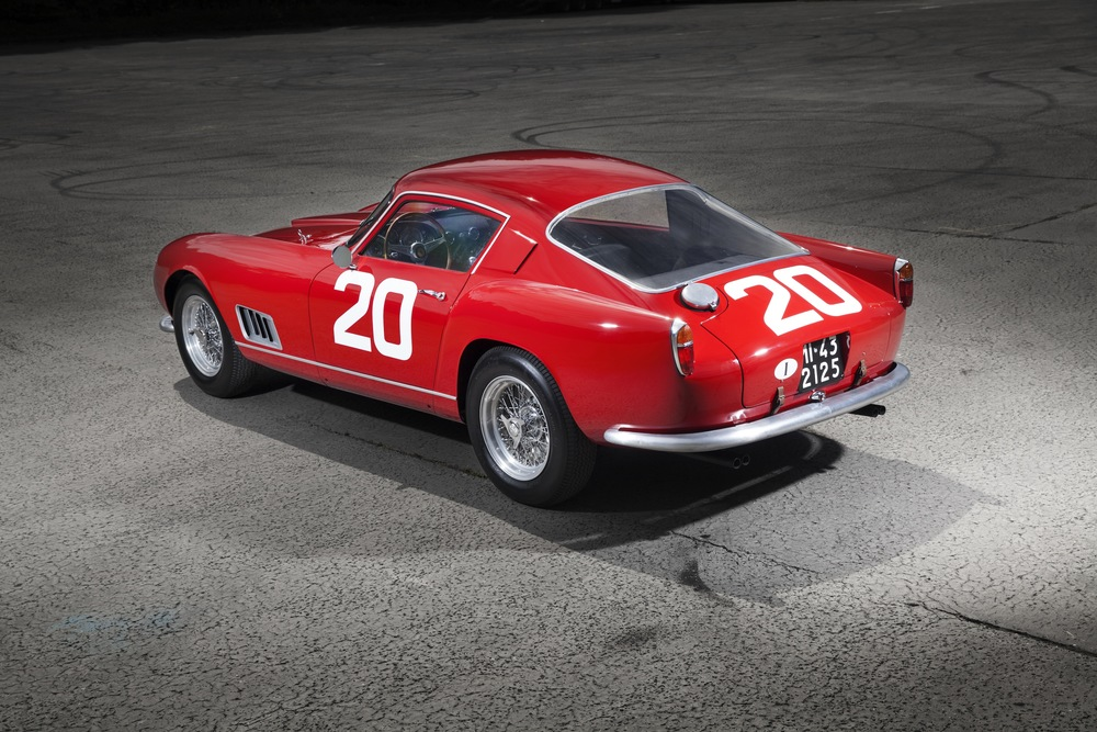 1958 Ferrari 250 GT Berlinetta Competizione TDF The star car for the RM Sotheby's London sale in 2015, a remarkable example with distinct racing pedigree. This car had presence.