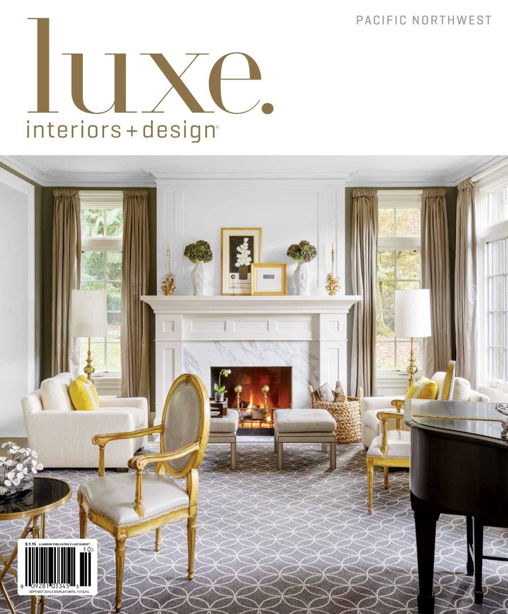 Luxe. Interiors + Design, September 2016     Stately Remodel on Large Estate