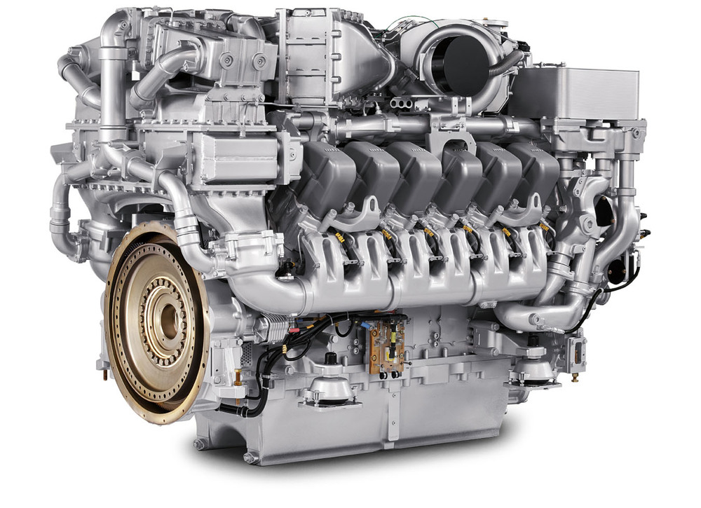 The MTU 12V Series 4000 R54 engine is Tier 3 certified and consumes up to 20% less fuel than older, similar horsepower, locomotives.