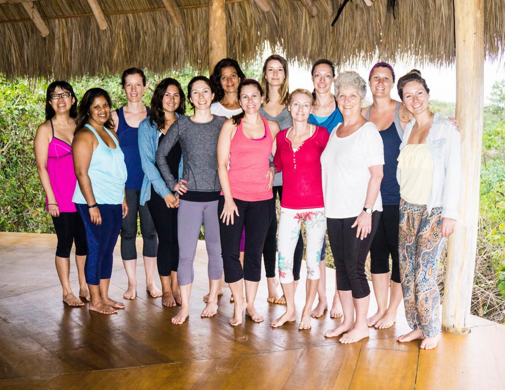 Jungle Spirit Yoga Retreat MEXICO 2015