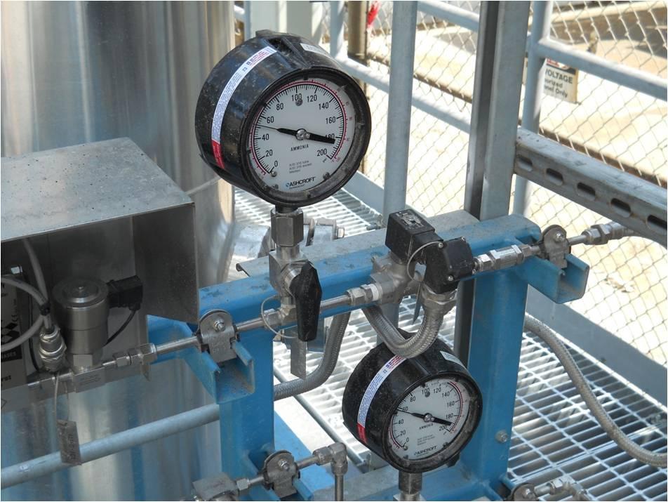 Aqueous Ammonia Pressure Gauges