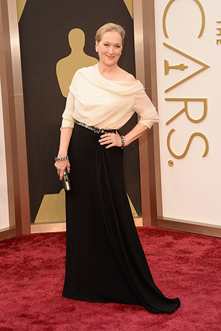Meryl Streep in Lanvin