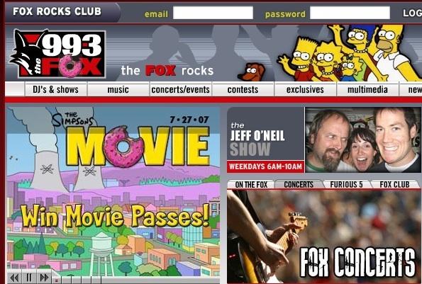 99.3 The Fox_The Simpsons.jpg