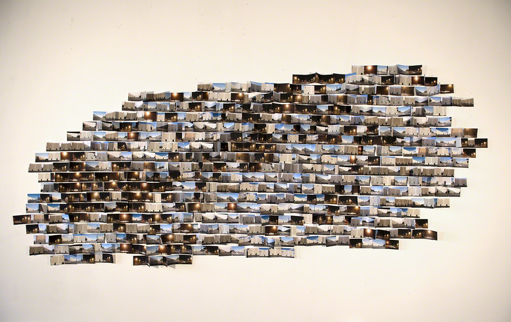 Coming and Going, photographic installation, 7ft. x 5ft. 2014