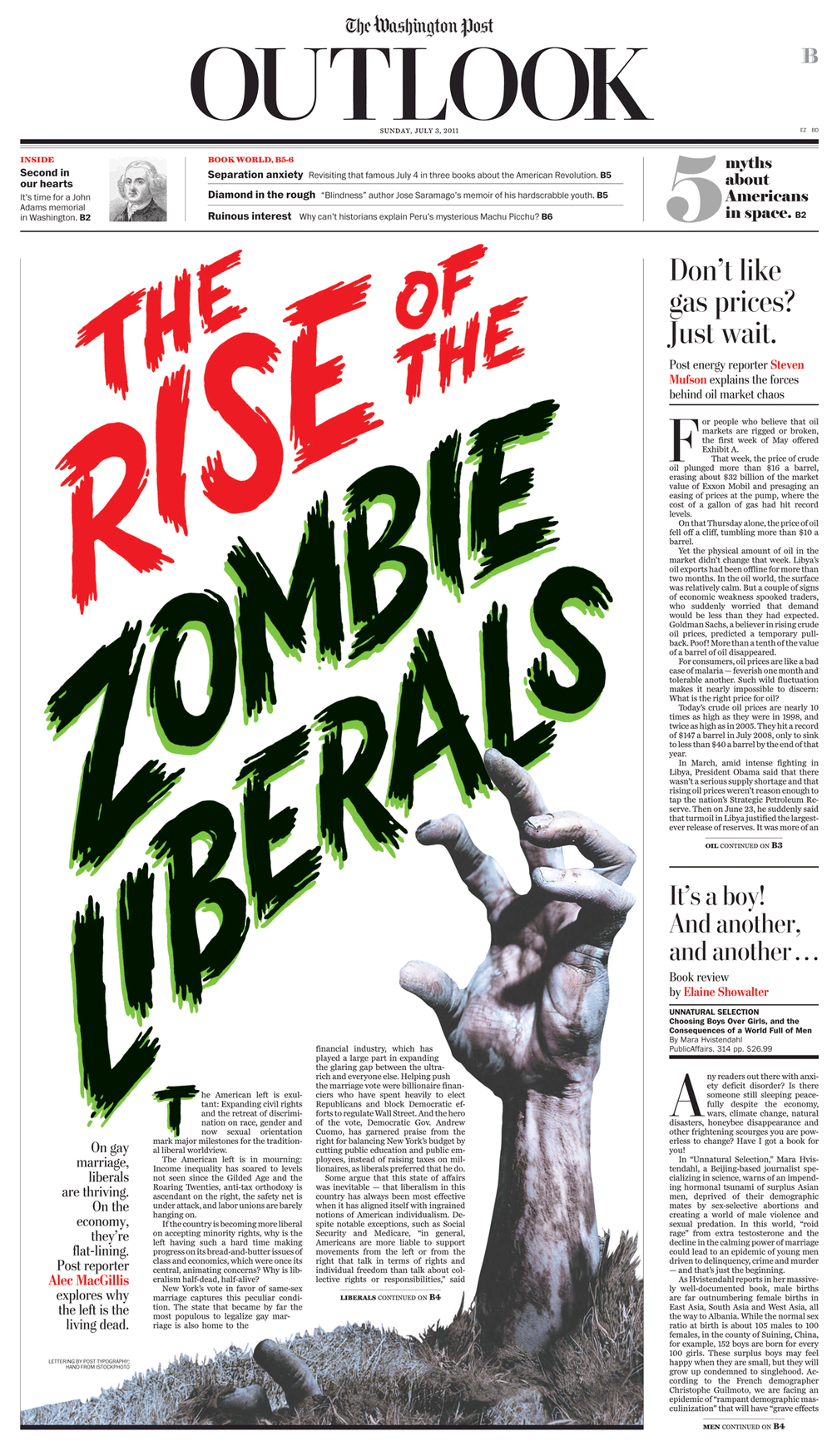Outlook: Zombie Liberals