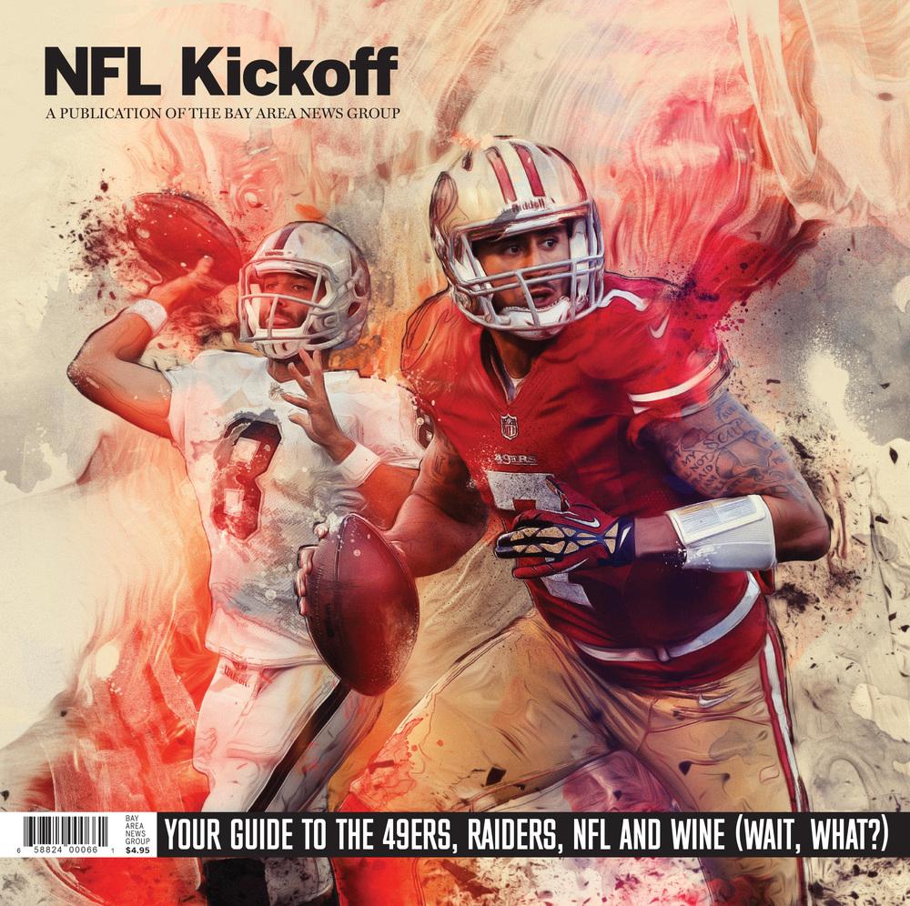 NFL Kickoff magazine