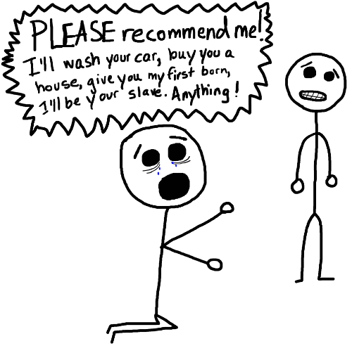 How to Ask for A Recommendation On LinkedIn — The Job Huntr