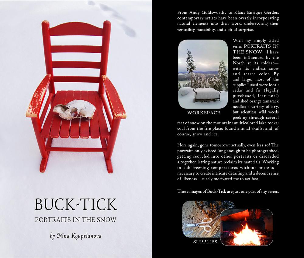 Buck-Tick: Portraits in the Snow