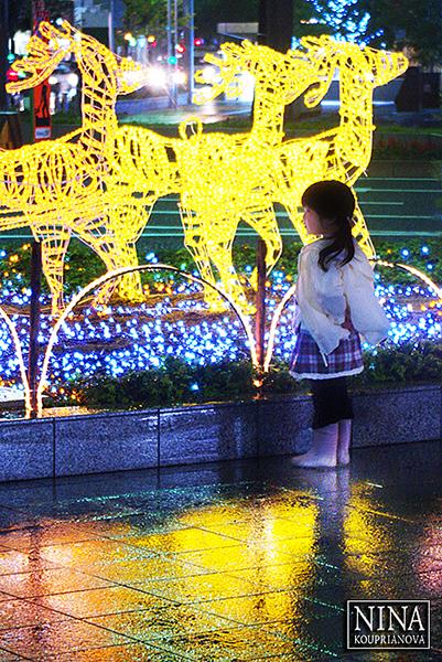 Waiting for Christmas (Nagoya, Japan)