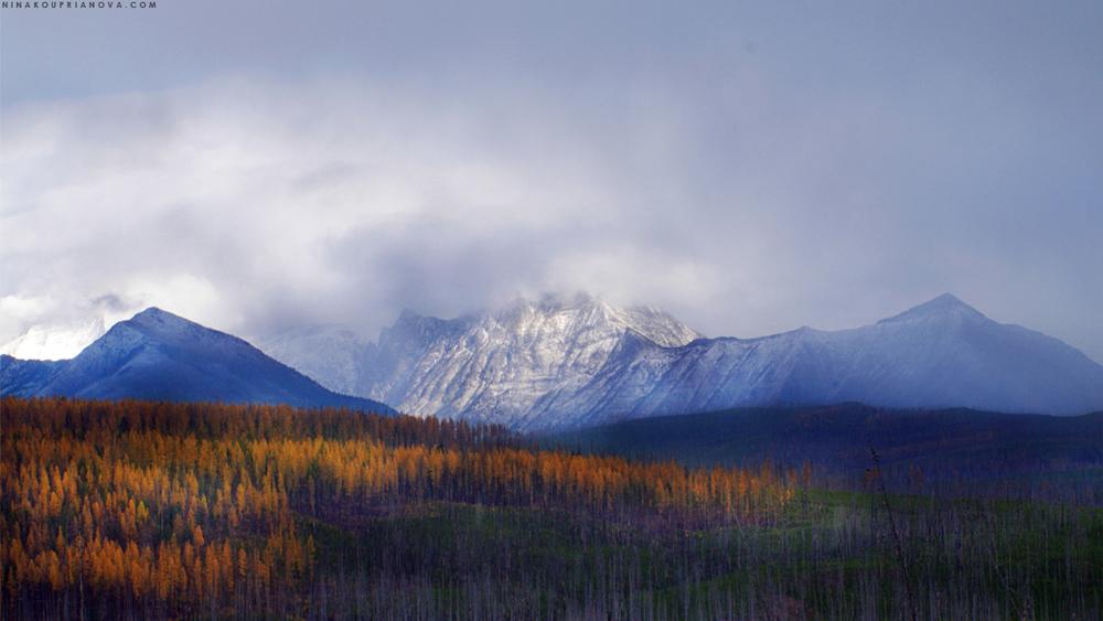 Autumn peaks of the American Northwest