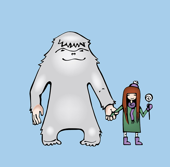 yeti and girl poster detail 2 650 px.jpg