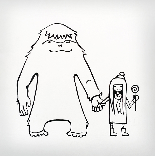 yeti and girl ink 650 px.jpg