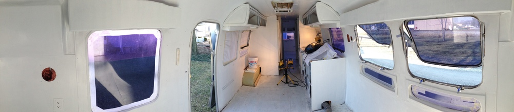 Airstream painting complete.