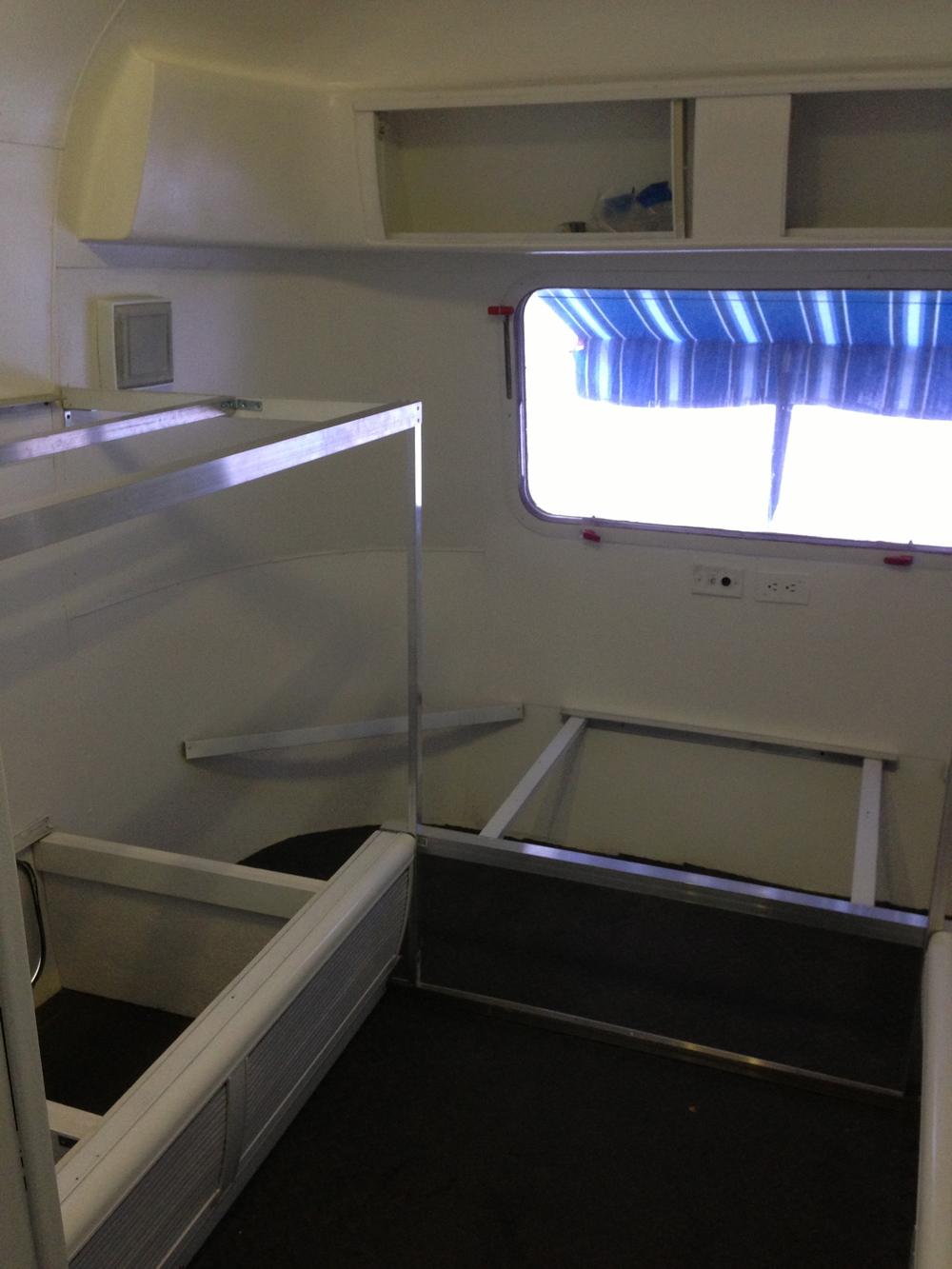 Left Side of the Bunkroom