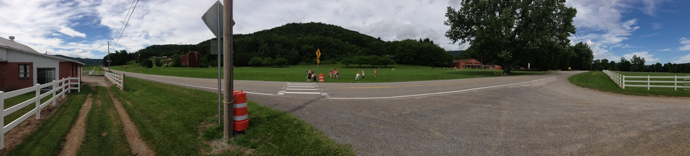 Camp Tygart nestled in the West Virginia Mountains