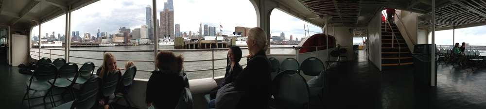 The Circle Cruise around Manhattan.