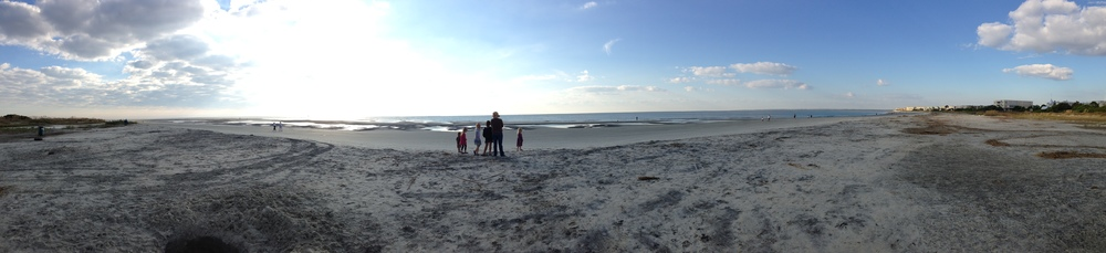 The Beach near St. Simon's Island, GA