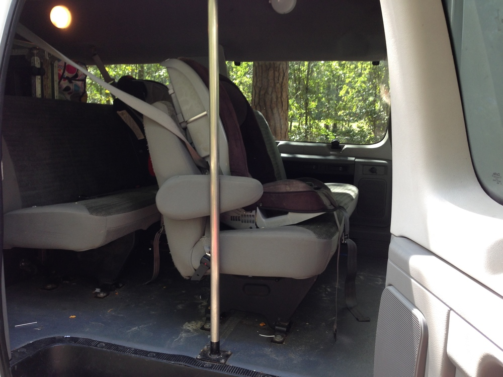 The original, 3 passenger bench seat