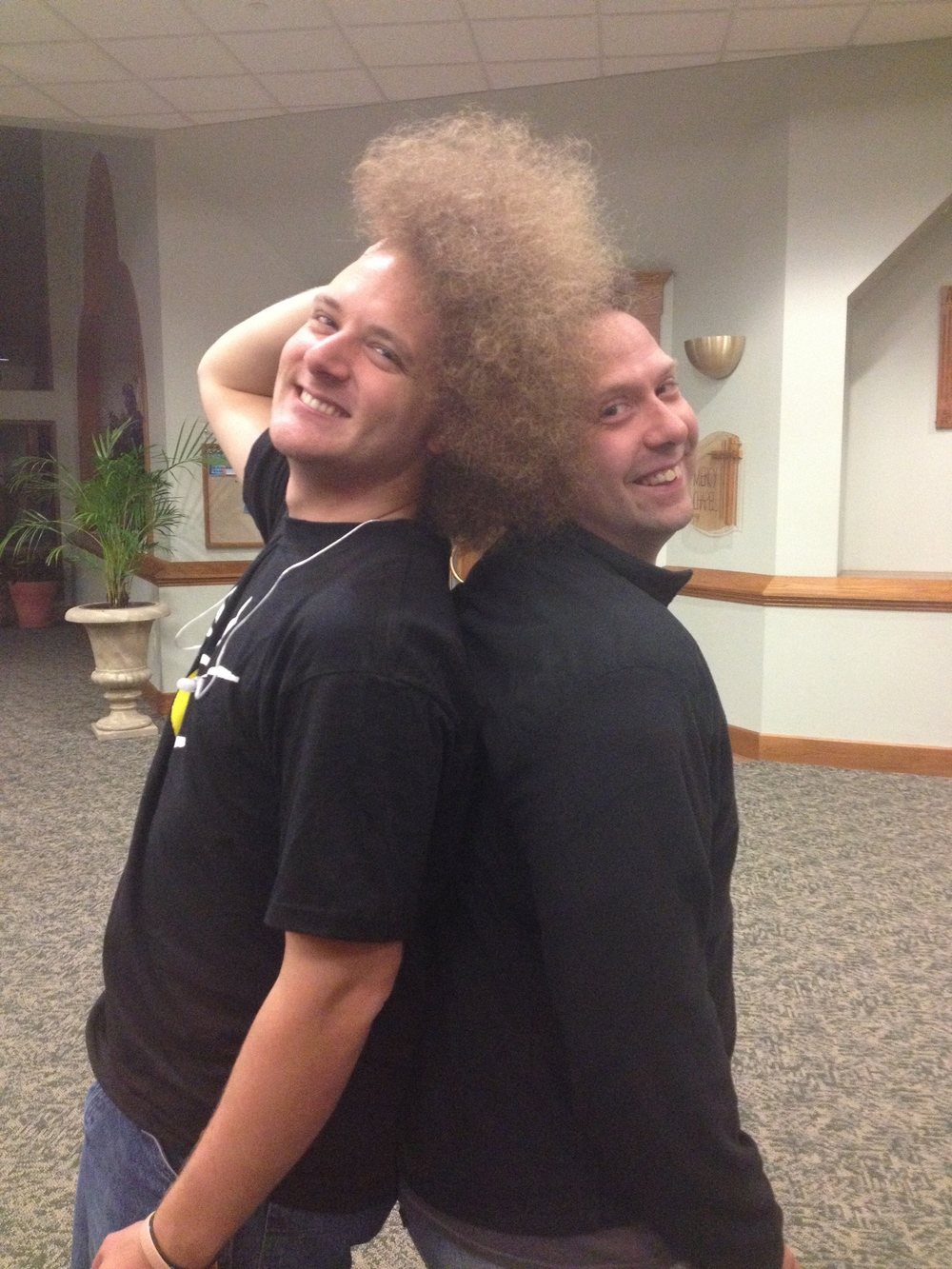 Afro Sam & Greg.