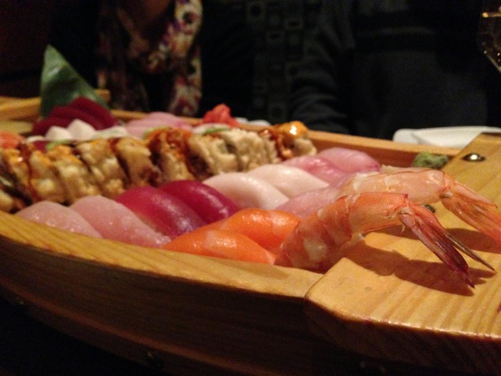 An evening of... sushi!