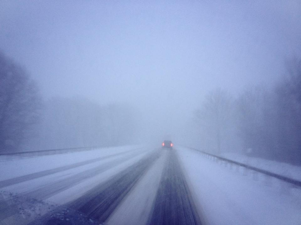 The drive to Buffalo was Treacherous!